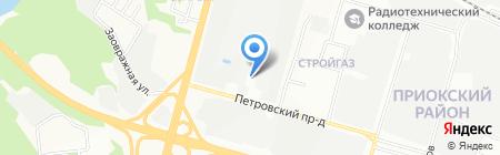 МеталлоРесурс на карте Нижнего Новгорода