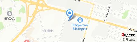 Арбузные корки на карте Нижнего Новгорода