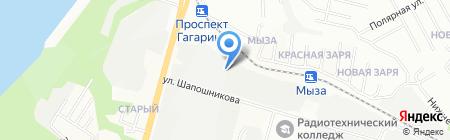 Мадин на карте Нижнего Новгорода