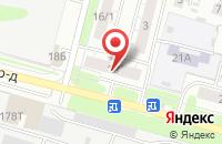 Схема проезда до компании Альфа Тайм в Нижнем Новгороде