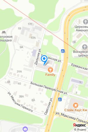 Дом 8 по ул. Дальняя на Яндекс.Картах