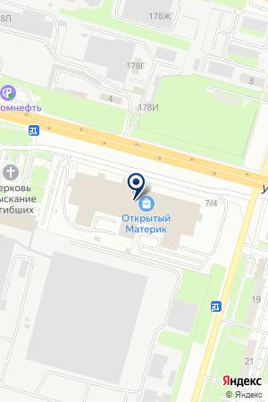 ПАНИН В.А. на карте Нижнего Новгорода