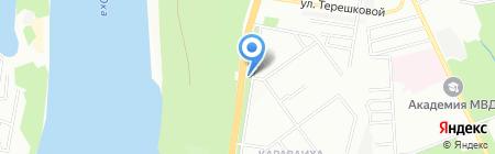 Караваиха на карте Нижнего Новгорода