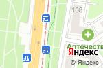 Схема проезда до компании Элика в Нижнем Новгороде