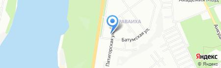 Либерти Страхование на карте Нижнего Новгорода