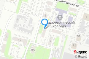 Двухкомнатная квартира в Нижнем Новгороде м. Пролетарская, улица Петровского, 5