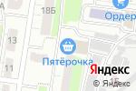 Схема проезда до компании Чеботарь в Нижнем Новгороде