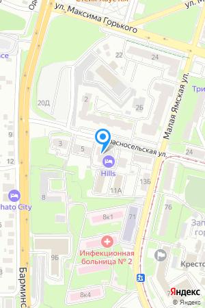 Дом 9А по ул. Красносельская на Яндекс.Картах