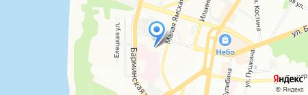 Мустанг на карте Нижнего Новгорода