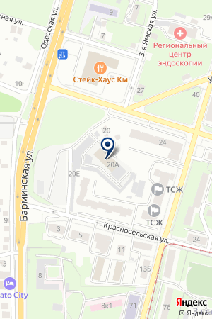 ТФ ЕВРОКОЛОР на карте Нижнего Новгорода