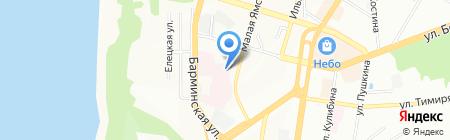 Инфекционная клиническая больница №2 г. Нижнего Новгорода на карте Нижнего Новгорода