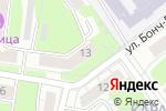 Схема проезда до компании Городская поликлиника №50 в Нижнем Новгороде
