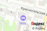Схема проезда до компании Йога для женщин в Нижнем Новгороде