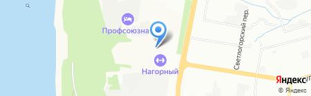 АльфаВит на карте Нижнего Новгорода