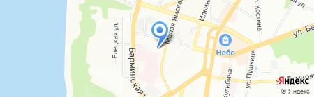 Ниас на карте Нижнего Новгорода