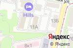 Схема проезда до компании Медицинский центр ЭКСПЕРТ в Нижнем Новгороде