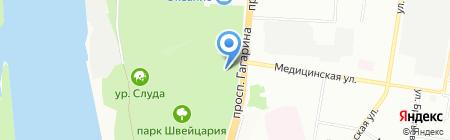 Davos на карте Нижнего Новгорода