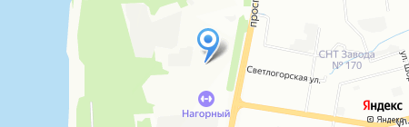 СВС Траст Волга на карте Нижнего Новгорода