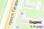 Схема проезда до компании Солнце в Нижнем Новгороде