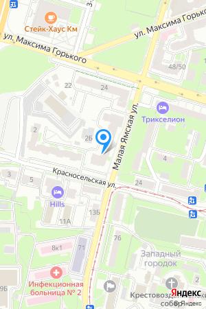 Дом 65/4 по ул. Малая Ямская, ЖК Ямская слобода на Яндекс.Картах