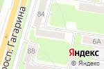 Схема проезда до компании Бабушкин сундучок в Нижнем Новгороде
