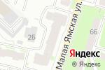 Схема проезда до компании Малая Ямская, 63, ТСЖ в Нижнем Новгороде