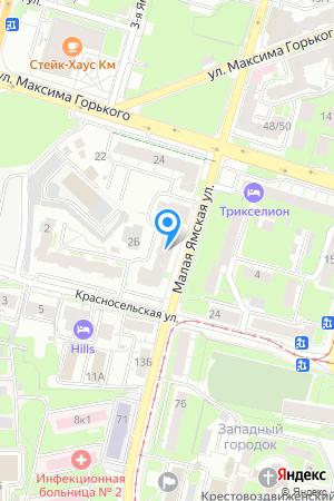Дом 63 (3 очередь) по ул. Малая Ямская, ЖК Ямская слобода на Яндекс.Картах
