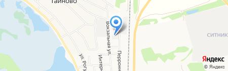 СТОЛЯРЪ на карте Бора