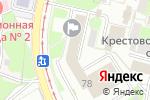 Схема проезда до компании Информ-Плюс в Нижнем Новгороде