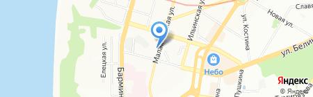 Главспорт на карте Нижнего Новгорода