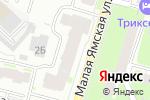 Схема проезда до компании Термогазсервис в Нижнем Новгороде