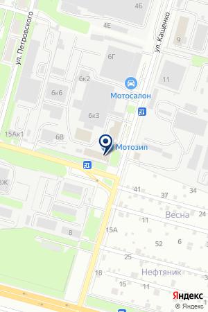 АО ТРАНСПОРТНОЕ ПРЕДРПИЯТИЕ ПРОГРЕСС на карте Нижнего Новгорода
