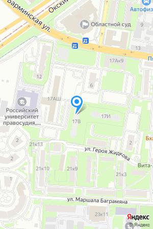 Дом 17В по просп. Гагарина на Яндекс.Картах