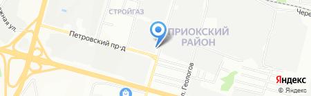 ВЕКТОР-НН на карте Нижнего Новгорода