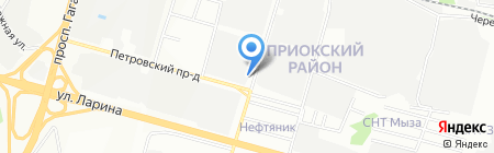 Автоэвакуатор-52 на карте Нижнего Новгорода