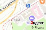 Схема проезда до компании Sun di Vero в Нижнем Новгороде
