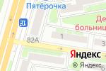 Схема проезда до компании Юность в Нижнем Новгороде