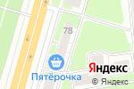 Схема проезда до компании Эльдорадо в Нижнем Новгороде