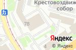 Схема проезда до компании Проспект в Нижнем Новгороде