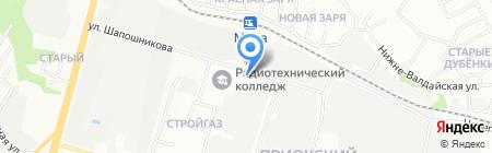 Электро Лэнд на карте Нижнего Новгорода