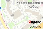Схема проезда до компании Фурор в Нижнем Новгороде