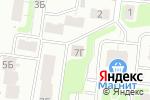 Схема проезда до компании Аквамарин в Нижнем Новгороде