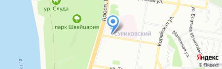 Школа Нижегородской Федерации Кудо на карте Нижнего Новгорода