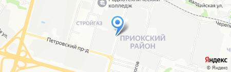 ТрансКар на карте Нижнего Новгорода