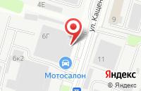 Схема проезда до компании Rospilnn в Нижнем Новгороде