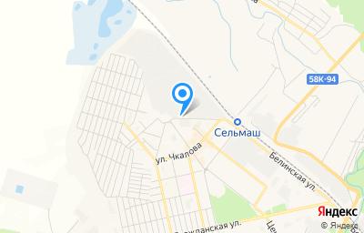 Местоположение на карте пункта техосмотра по адресу Пензенская обл, г Каменка, ул Чернышевского, д 1