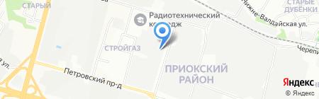 Недвижимость бизнеса на карте Нижнего Новгорода