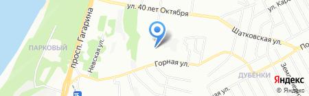 Первая автомобильная компания на карте Нижнего Новгорода