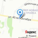 Парикмахерская на карте Нижнего Новгорода