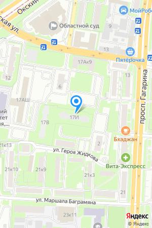 Дом 17И по просп. Гагарина на Яндекс.Картах